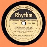 Rhythm 4756 THEODORE ORCHESTRA + PEPITA Down Argentine way No 786