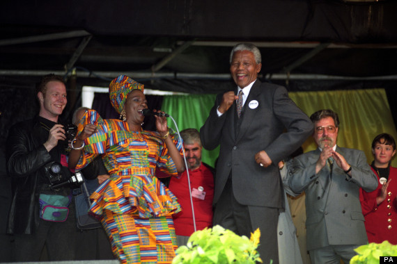 ANC PRESIDENT, NELSON MANDELA